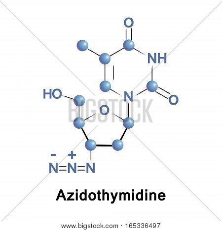 Azidothymidine is an antiretroviral medication used to prevent and treat HIV or AIDS. It uses with other antiretroviral. It may prevent vertical spread during birth or after a needlestick injury