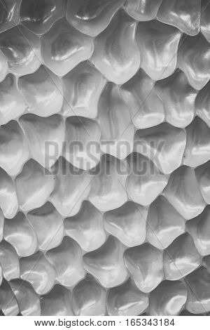 gray cells background, unusual texture with membrane