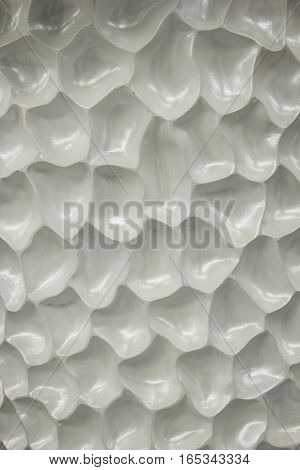 white cells background, unusual texture with membrane