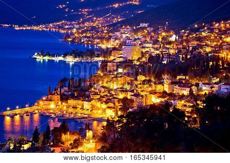 Opatija Riviera Bay Evening View