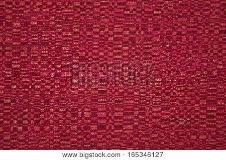 Red background with red and golden stripes