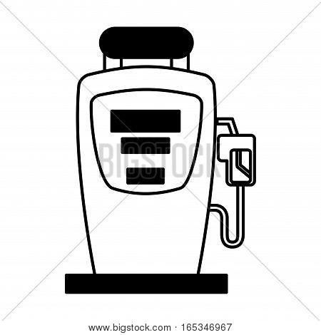 station service fuel icon vector illustration design