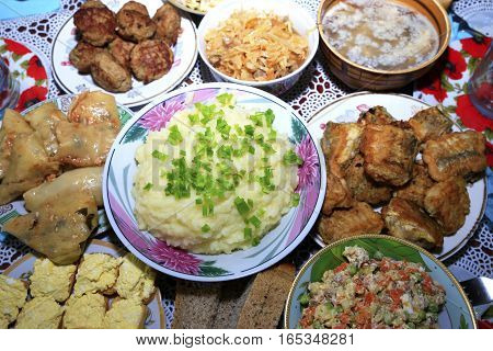 Delicious Homemade And Restaurant Food