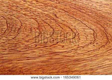 Close-up of beautiful wood grain of a wood