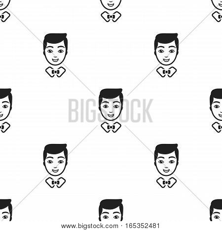 Groom man icon of vector illustration for web and mobile design
