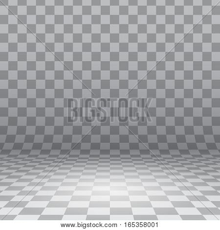 Abstract background of surface with checkered pattern