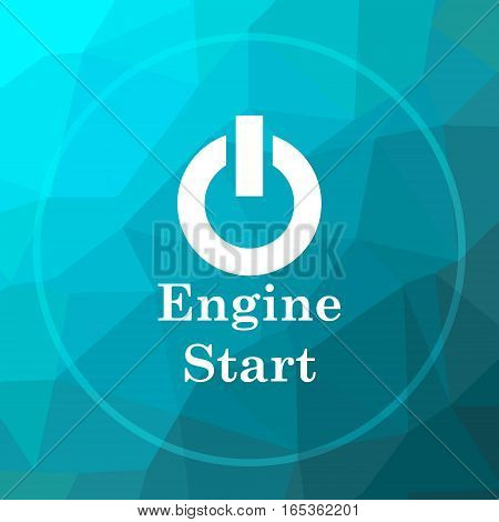 Engine Start Icon
