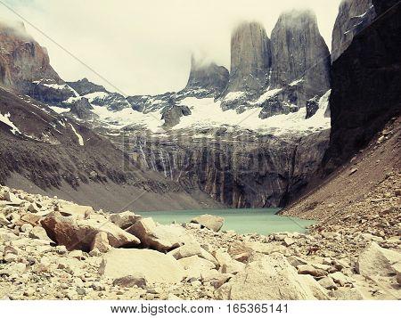 Torres del paine chile lugar turismo naturaleza