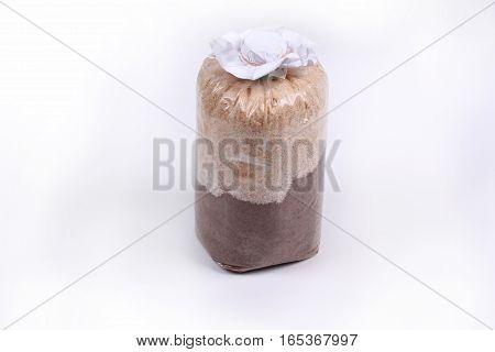 Infected Mushroom Bag Of Bamboo Mushroom ,veiled Lady Mushroom.