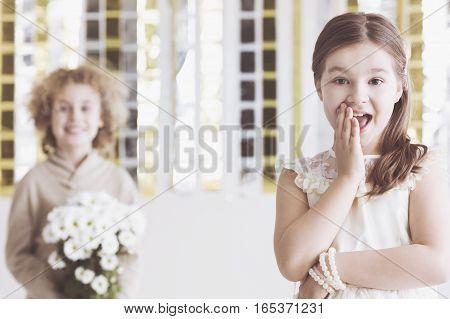 Little Flirty Girl