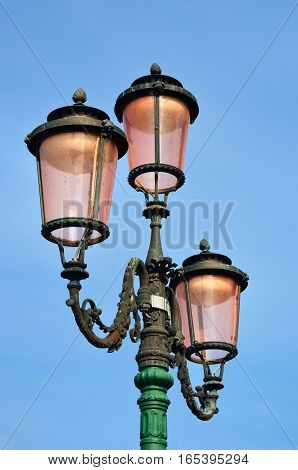 Lamppost From Murano Glasses