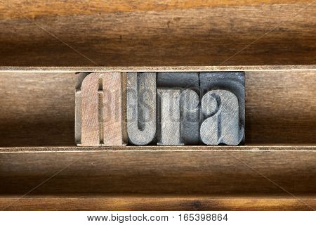 Aura Wooden Tray