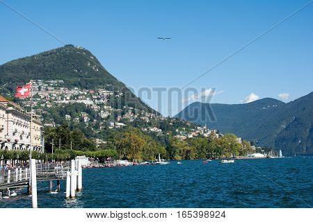 Lake Of Lugano, Switzerland