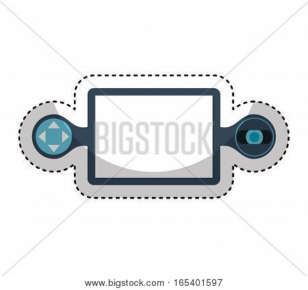 drone remote control isolated icon vector illustration design
