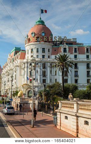 Hotel Negresco In Nice, France