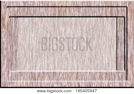 Texture Of Wooden Frame