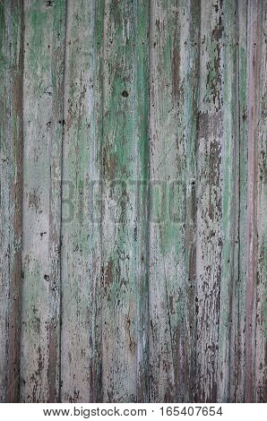 The Texture Of Wooden Fence