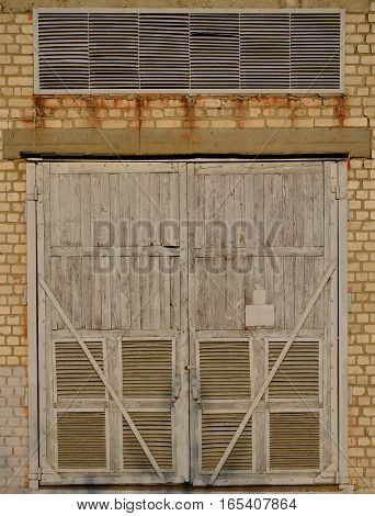 Substation Wooden Gate