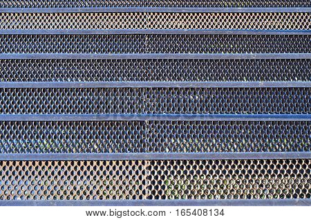 Rusty Metal Mesh Texture