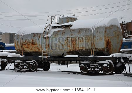 Parts Of The Snowy Freight Railcar