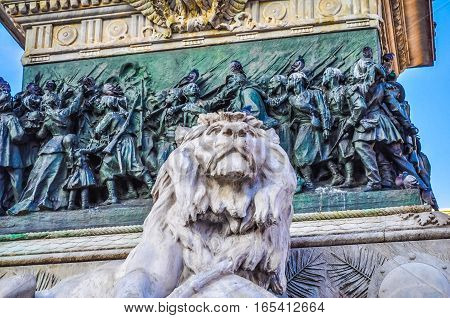 Hdr Milan Italy