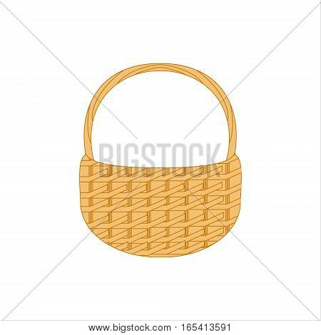 Wicker Basket Icon