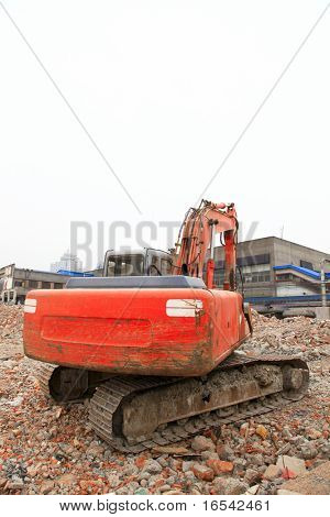 the heavy duty in the building sites.
