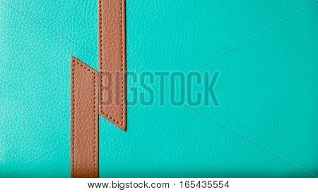 Leather Texture and background green texture background green leather brown & green leather
