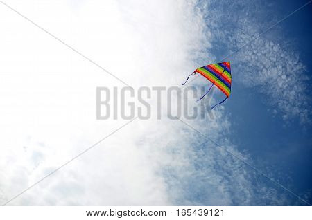 Kite in the sky fly like our dreams