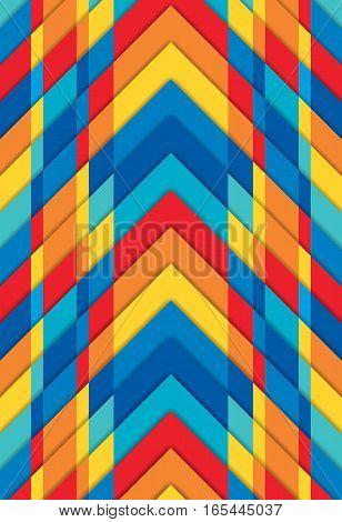 Multicoloured texture, bright geometric background, modern vector wallpaper