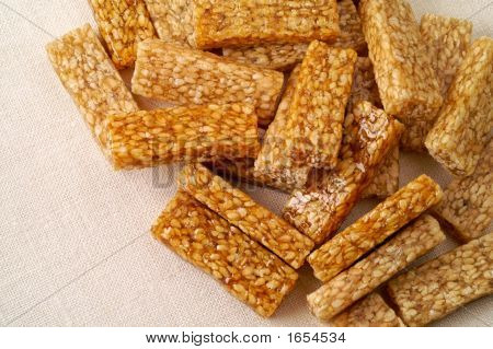 Sesame Brittles