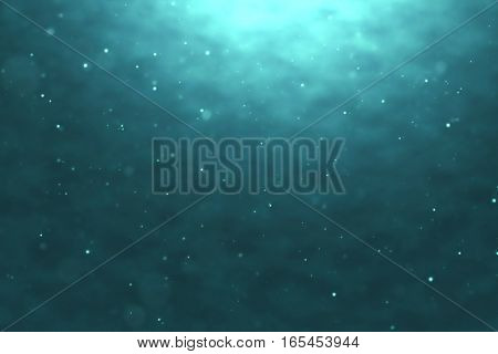 High Quality Perfectly Seamless Loop Of Deep Blue Ocean Waves From Underwater Background With Micro