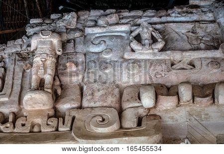 Tomb Of U Ka€™it Kan Lea€™k Tok, A Ruler Of Ek Balam.