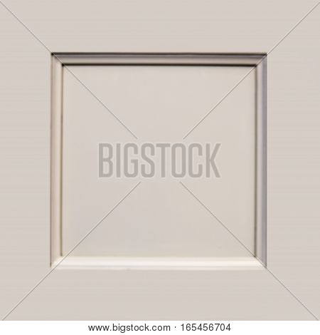 Modern Wooden Kitchen Door Made of Maple, Cherry, Oak Birch. Background White.