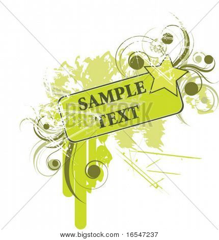 abstract fashion vector background for text