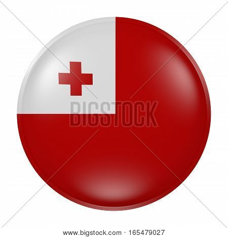 Tonga Button On White Background