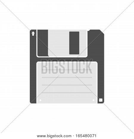 Floppy disk icon - Vector. Diskette. Data. Icon.