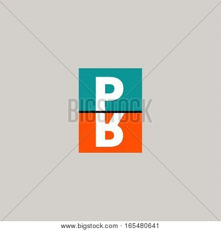 PR. Logo of public relations. Icon advertising agency. Vector illustration.