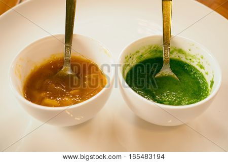 Red And Green Sauce