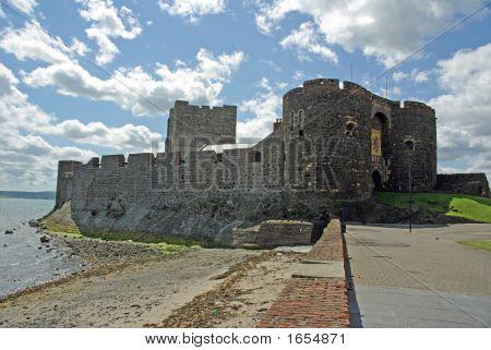 Carrickfergus Castle From The Shore