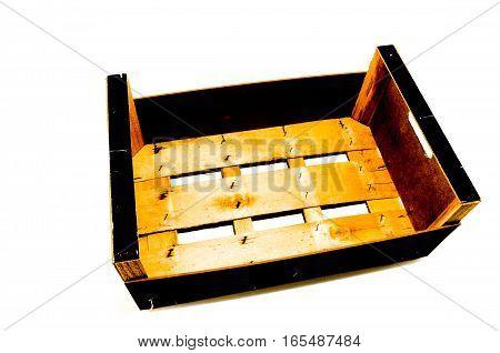 Empty Fruit Crate Box