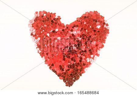 Heart Texture Background