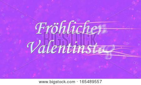 Happy Valentine's Day Text In German