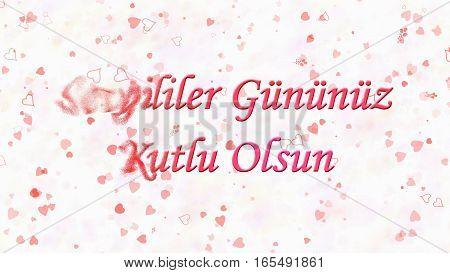 Happy Valentine's Day Text In Turkish