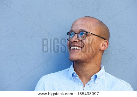 African Businessman Smiling With Glasses