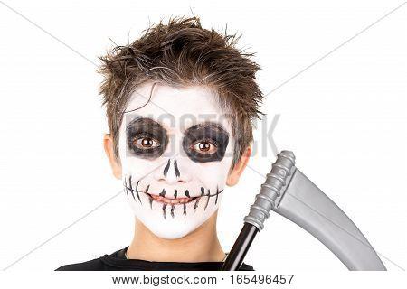 Kid In Halloween