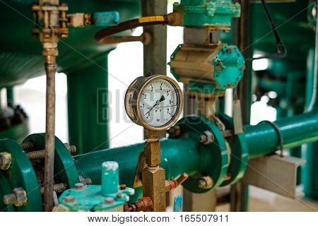 Pressure Gauge And Instrument In Power Plant