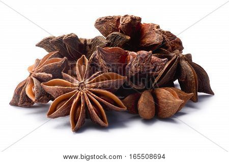 Pile Of Star Anise (dried Ilicium Fruits), Paths