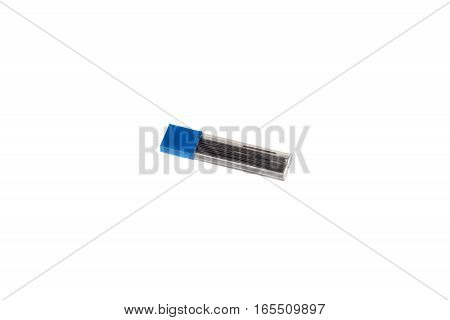 leads for micro pencil in box isolated on white background