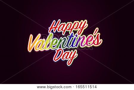 Happy Valentine's Day Metrosexual Valentine's Day. Vector Illustration.